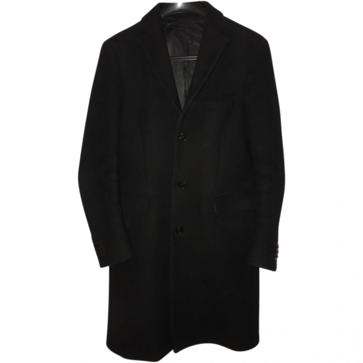 Acne Studios \N Black Wool coat for Women 48 FR