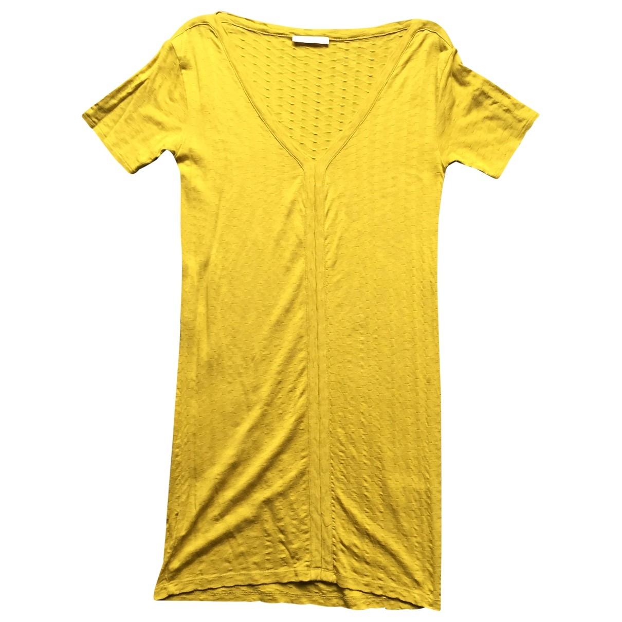 Sessun \N Yellow Cotton dress for Women S International