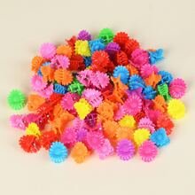 100pcs Toddler Girls Floral Hair Claw