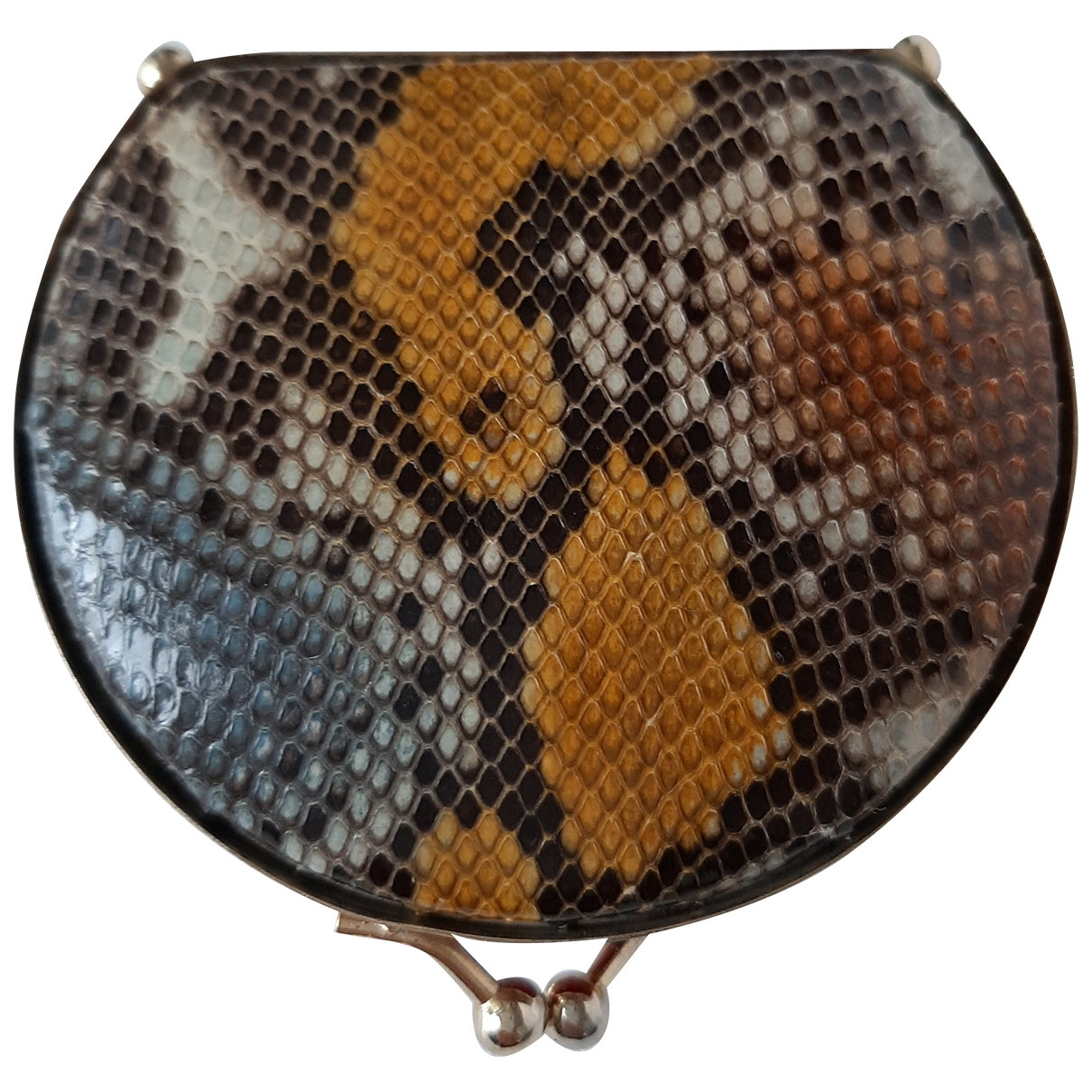 Non Signé / Unsigned \N Multicolour Exotic leathers Purses, wallet & cases for Women \N