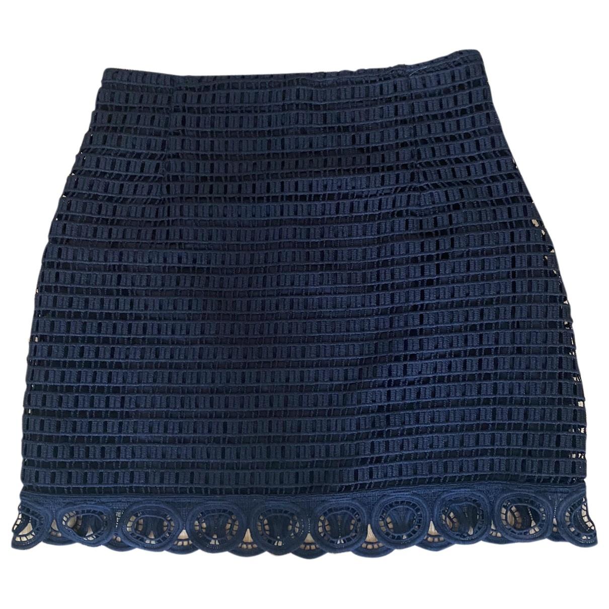 Sandro \N Black skirt for Women 38 FR
