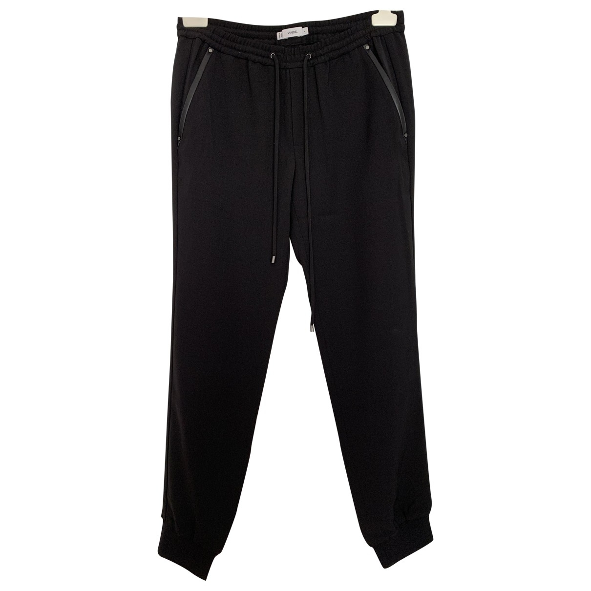 Vince \N Black Trousers for Women S International