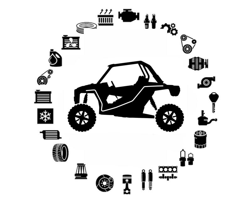Polaris OEM 7186149 DECAL-SIDE, FRONT, LH   [AG]