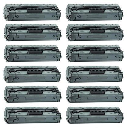 Compatible HP 92A C4092A cartouche de toner noire - boite economique - 12/paquet