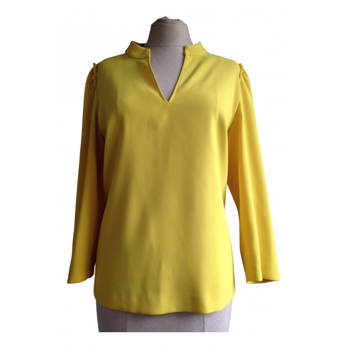 Xandres \N Yellow  top for Women 38 FR