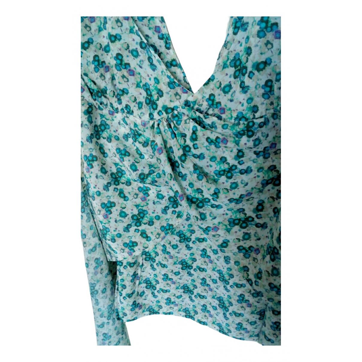 Barbara Bui \N Blue Silk  top for Women M International