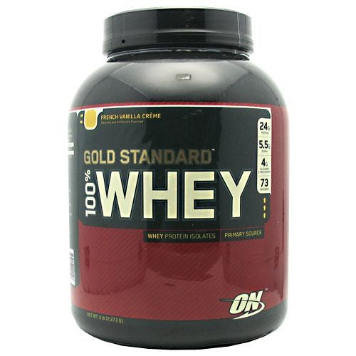 100% Whey Gold French Vanilla 6.0 lb by Optimum Nutrition