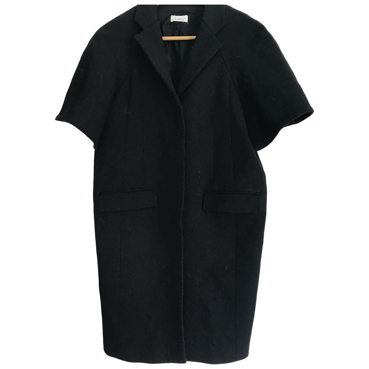 Pinko \N Black Cotton - elasthane dress for Women 40 FR