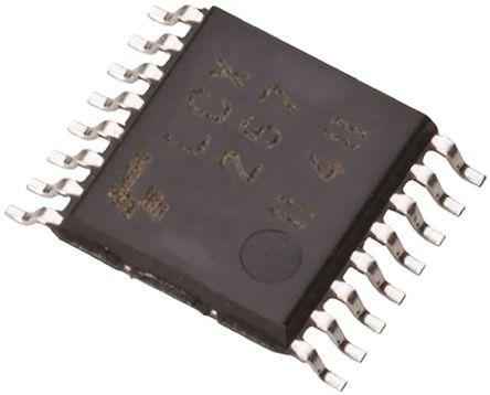 Toshiba TC4052BFT(N) , Multiplexer/Demultiplexer Dual 4:1, 12 V, 15 V, 5 V, 9 V, 16-Pin TSSOP (5)