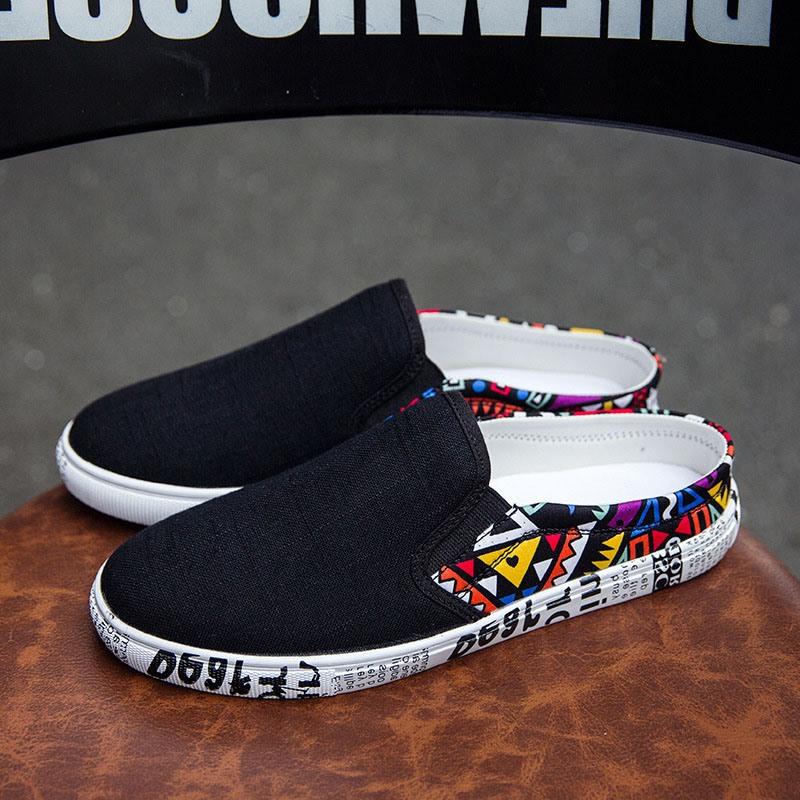 Ericdress Print Slip-On Round Toe Men's Shoes