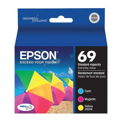 Epson T069520 Original Color Ink Cartridge Combo C/M/Y