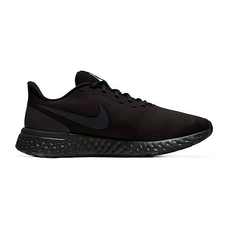 Nike Revolution 5 Mens Running Shoes, 7 1/2 Extra Wide, Black