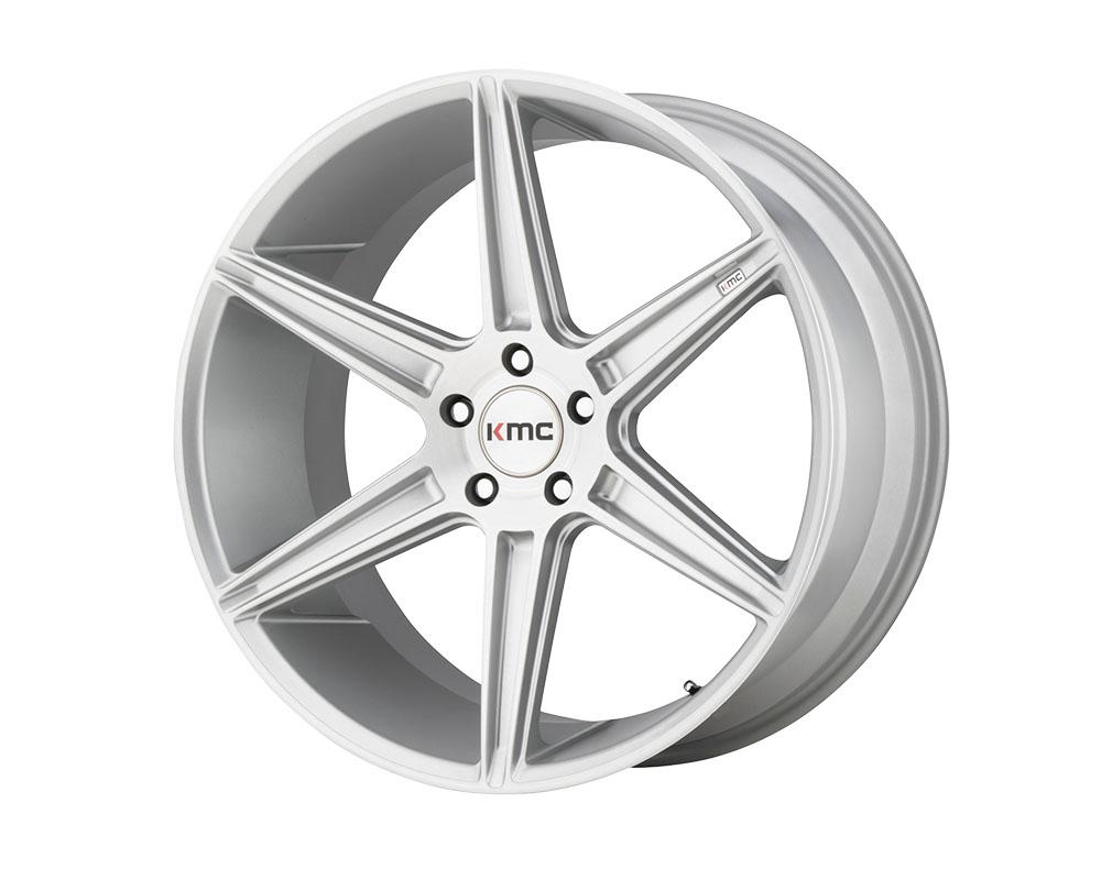 KMC KM711 Prism Wheel 22x10.5 5x5x120 +40mm Brushed Silver