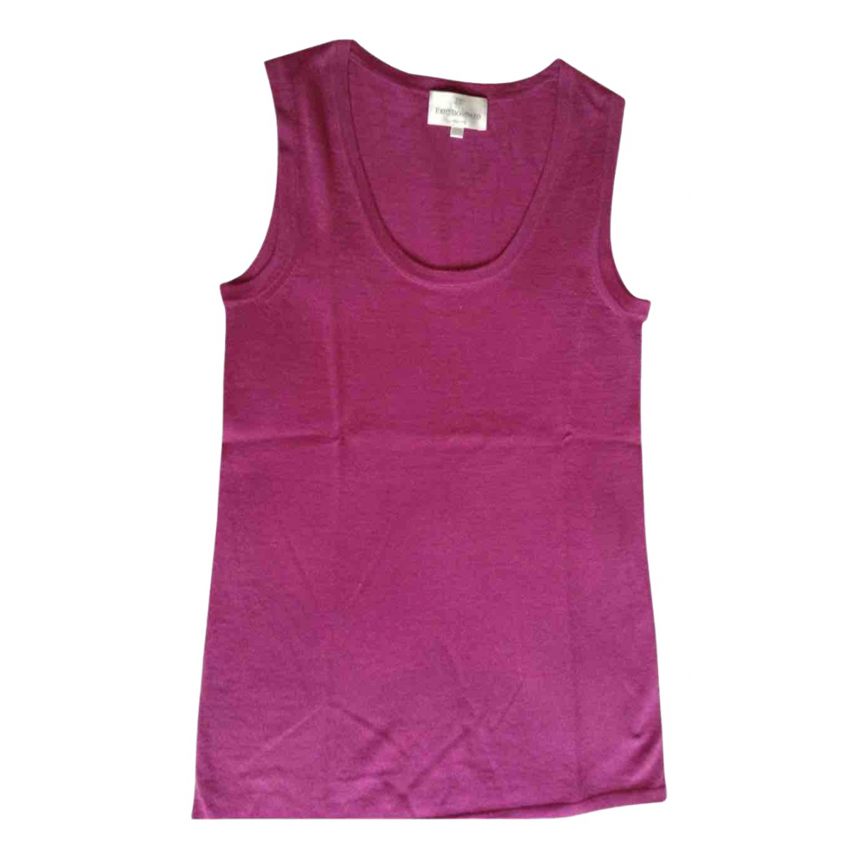 Eric Bompard \N Pink Cashmere  top for Women 36 FR