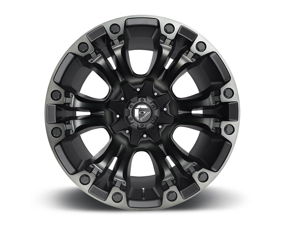 Fuel D569 Vapor Black w/ DDT 1-Piece Cast Wheel 18x9 5x114.3 5x127 -12mm