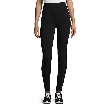 St. John's Bay Womens Legging, Petite X-small , Gray