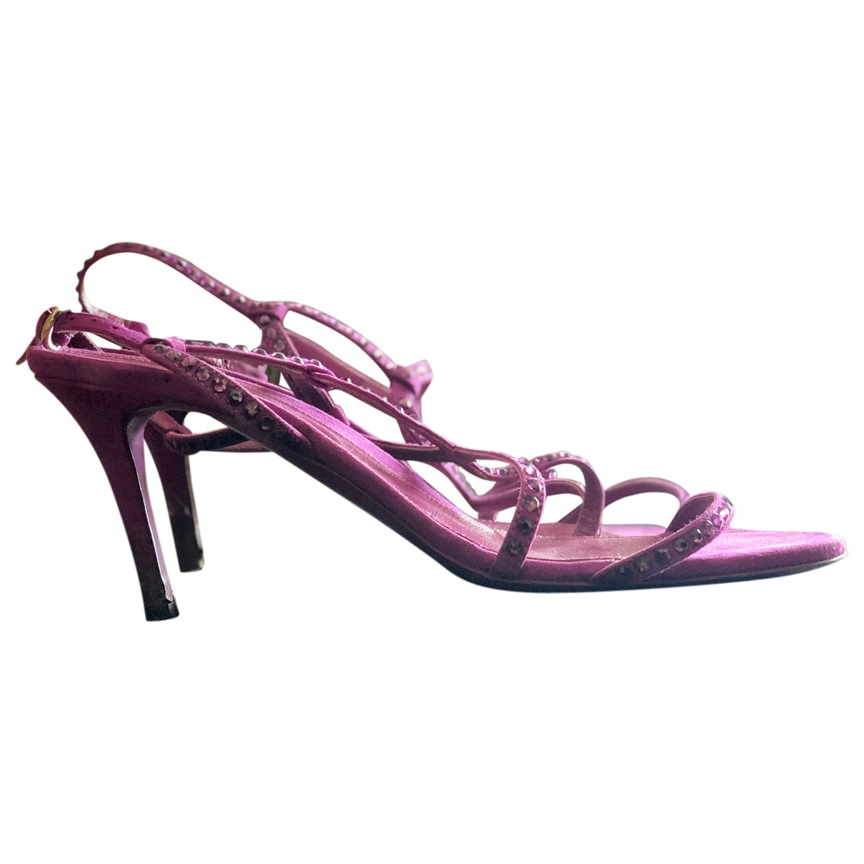 Sergio Rossi \N Pink Suede Sandals for Women 40 EU