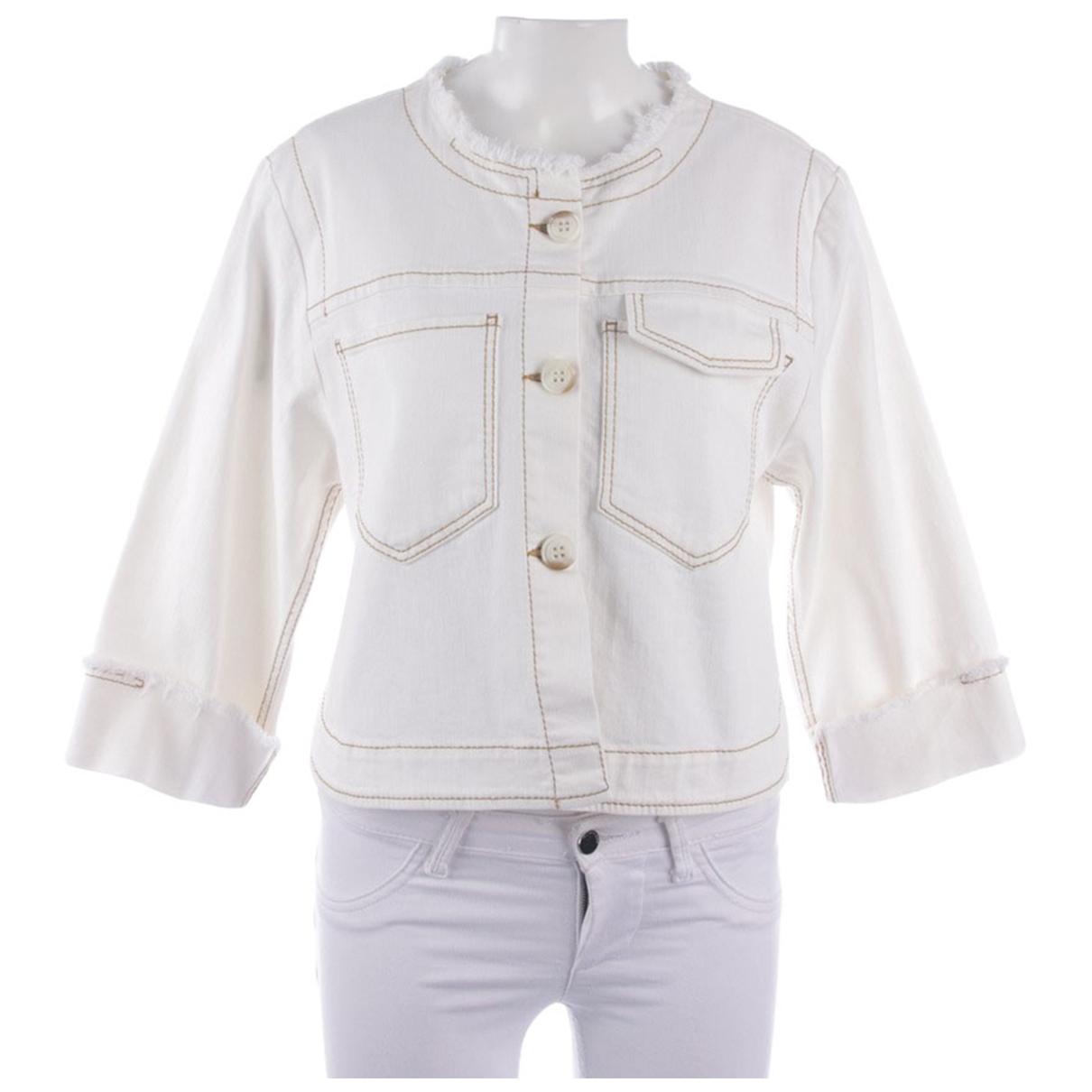 Dorothee Schumacher \N White Cotton jacket for Women 36 FR