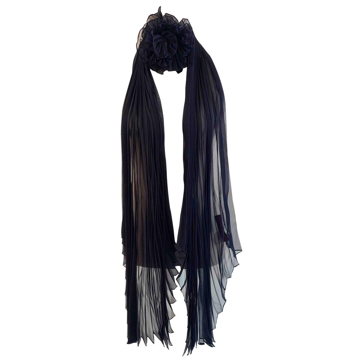 Valentino Garavani \N Blue Silk scarf for Women \N