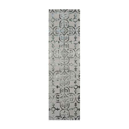 Safavieh Dip Dye Collection Danny Floral Runner Rug, One Size , Multiple Colors