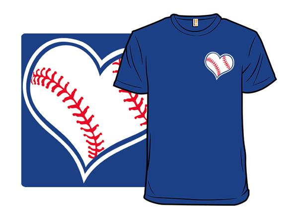 A Heart For Baseball T Shirt
