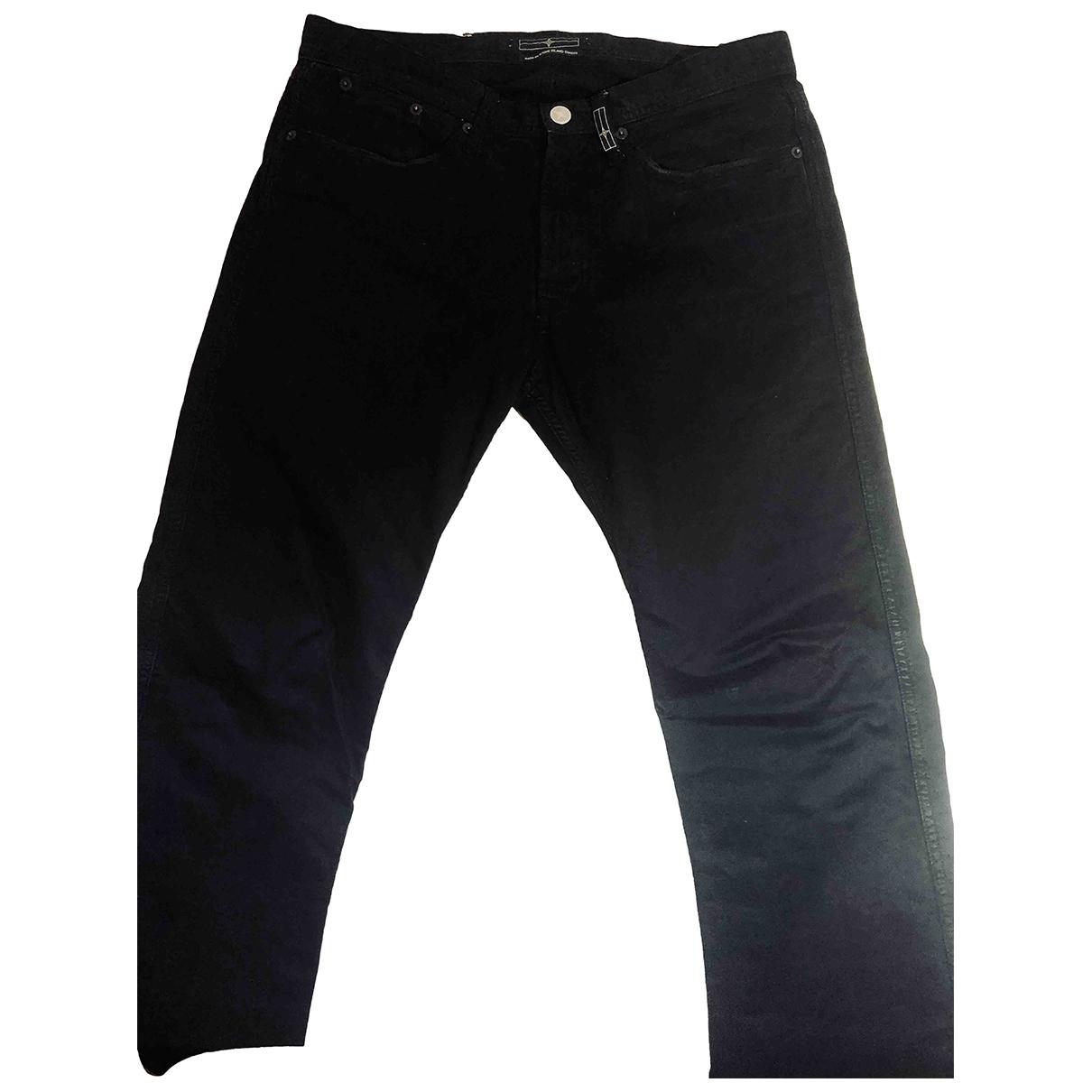 Stone Island \N Black Cotton Jeans for Men 30 UK - US