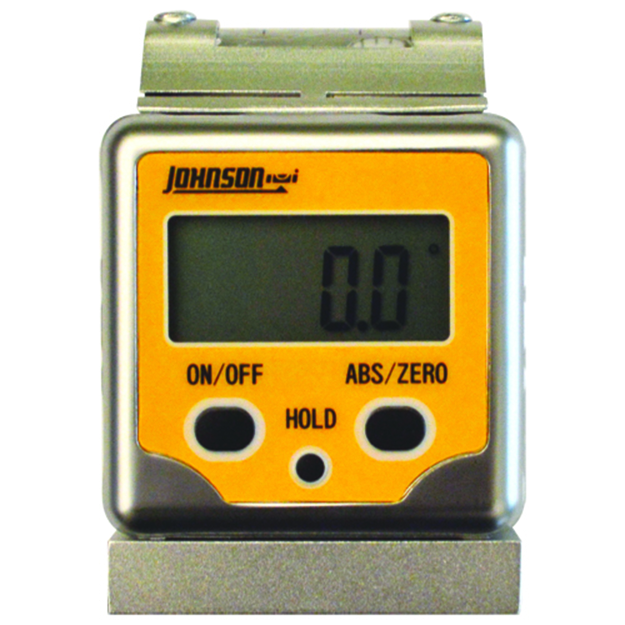 Professional Magnetic Digital Angle Locator 3 Button with V-Groove and Level Vial