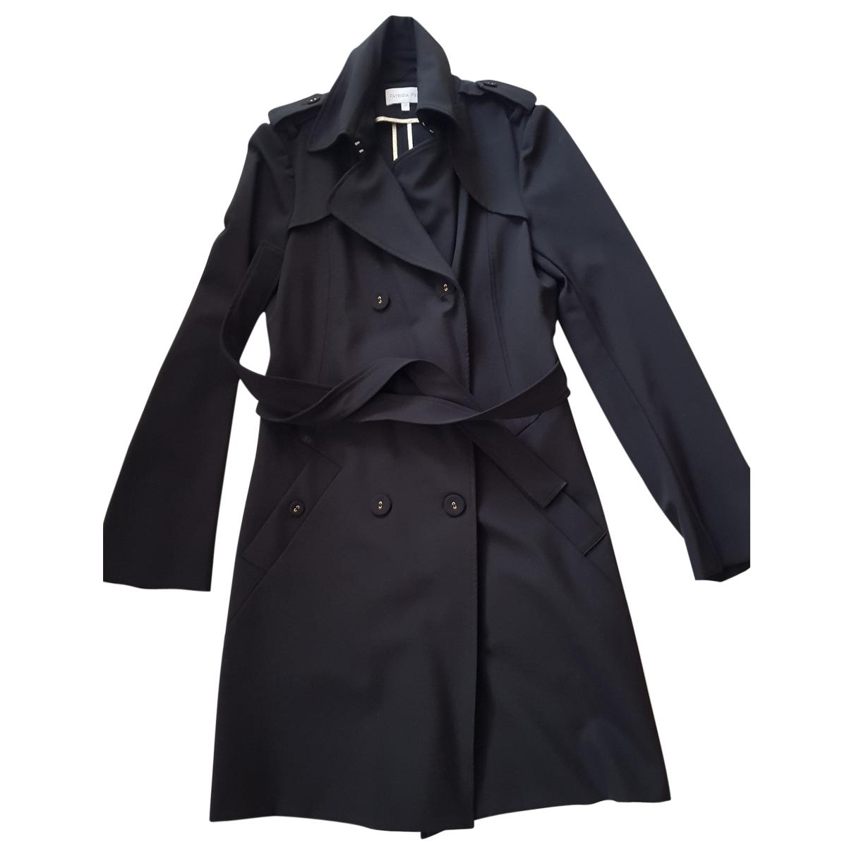 Patrizia Pepe \N Black coat for Women S International