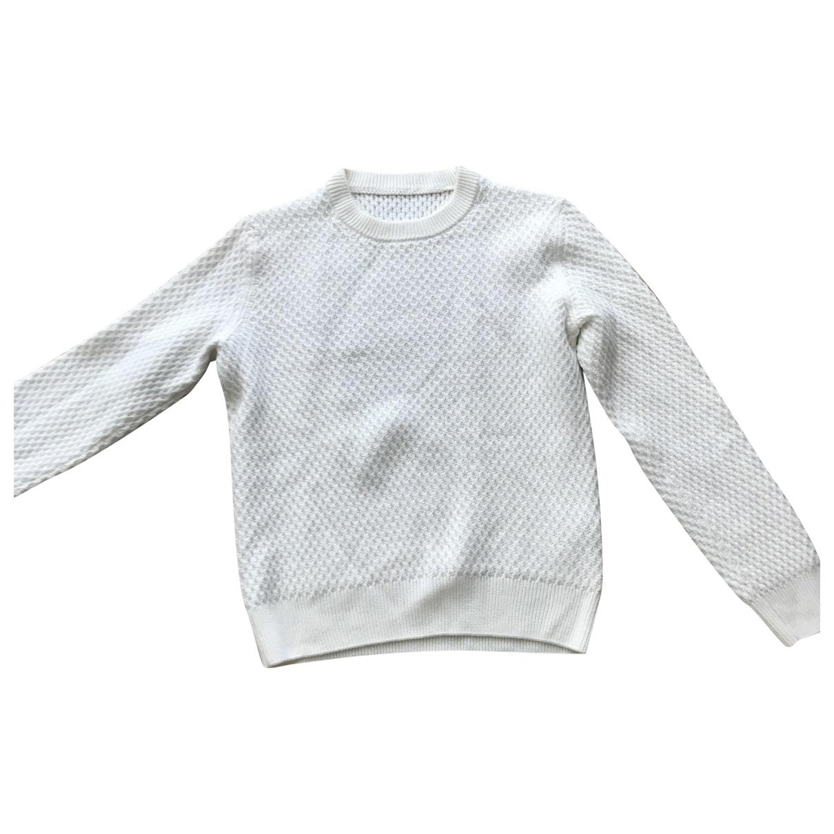 Sandro \N White Wool Knitwear & Sweatshirts for Men M International