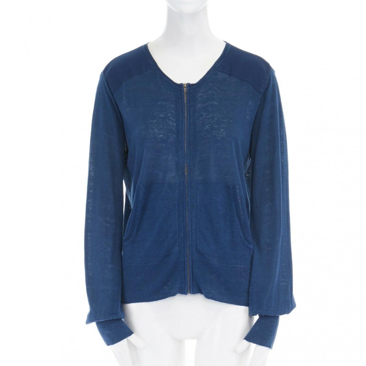 Isabel Marant \N Blue Linen Knitwear for Women 34 FR