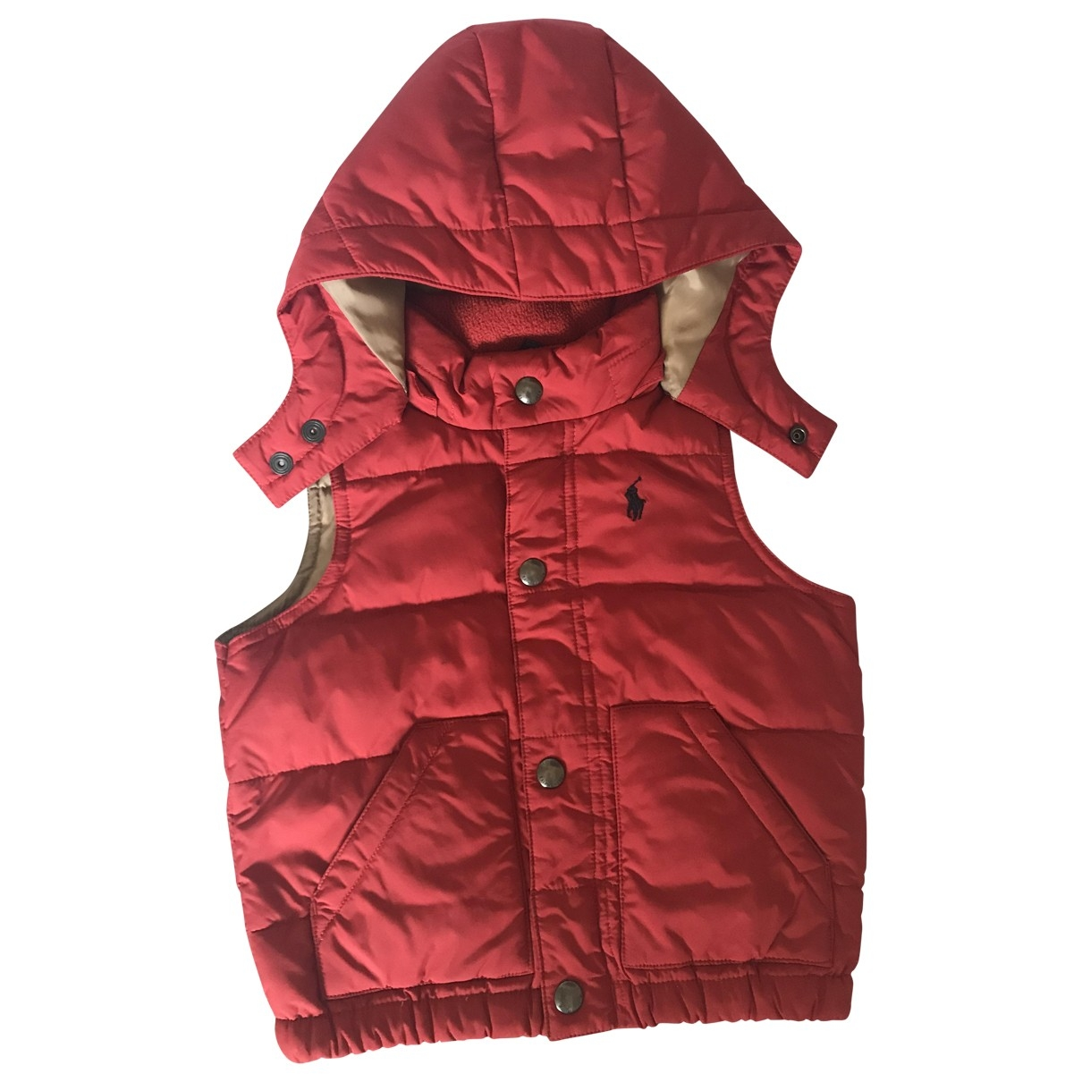 Polo Ralph Lauren \N Red jacket & coat for Kids 12 months - up to 74cm FR