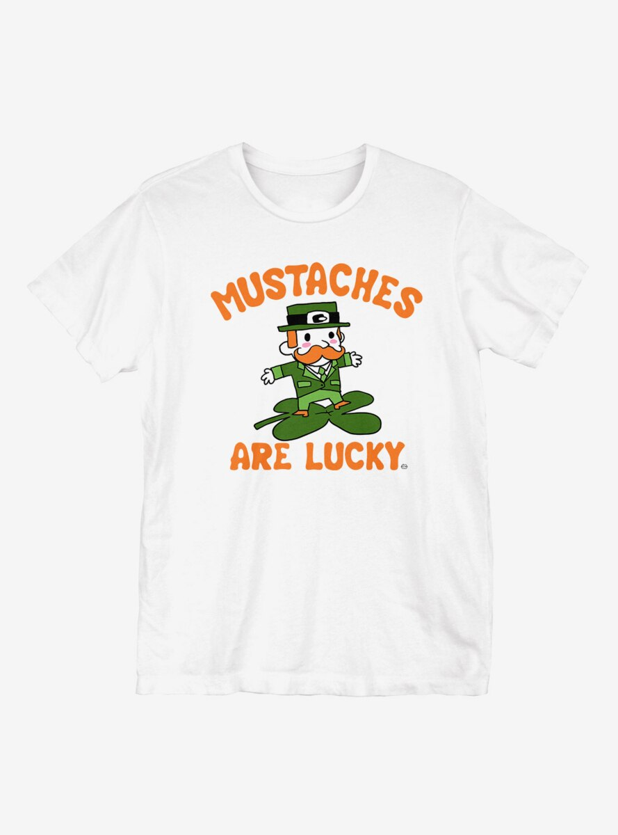 St. Patrick's Day Mustaches Are Lucky T-Shirt