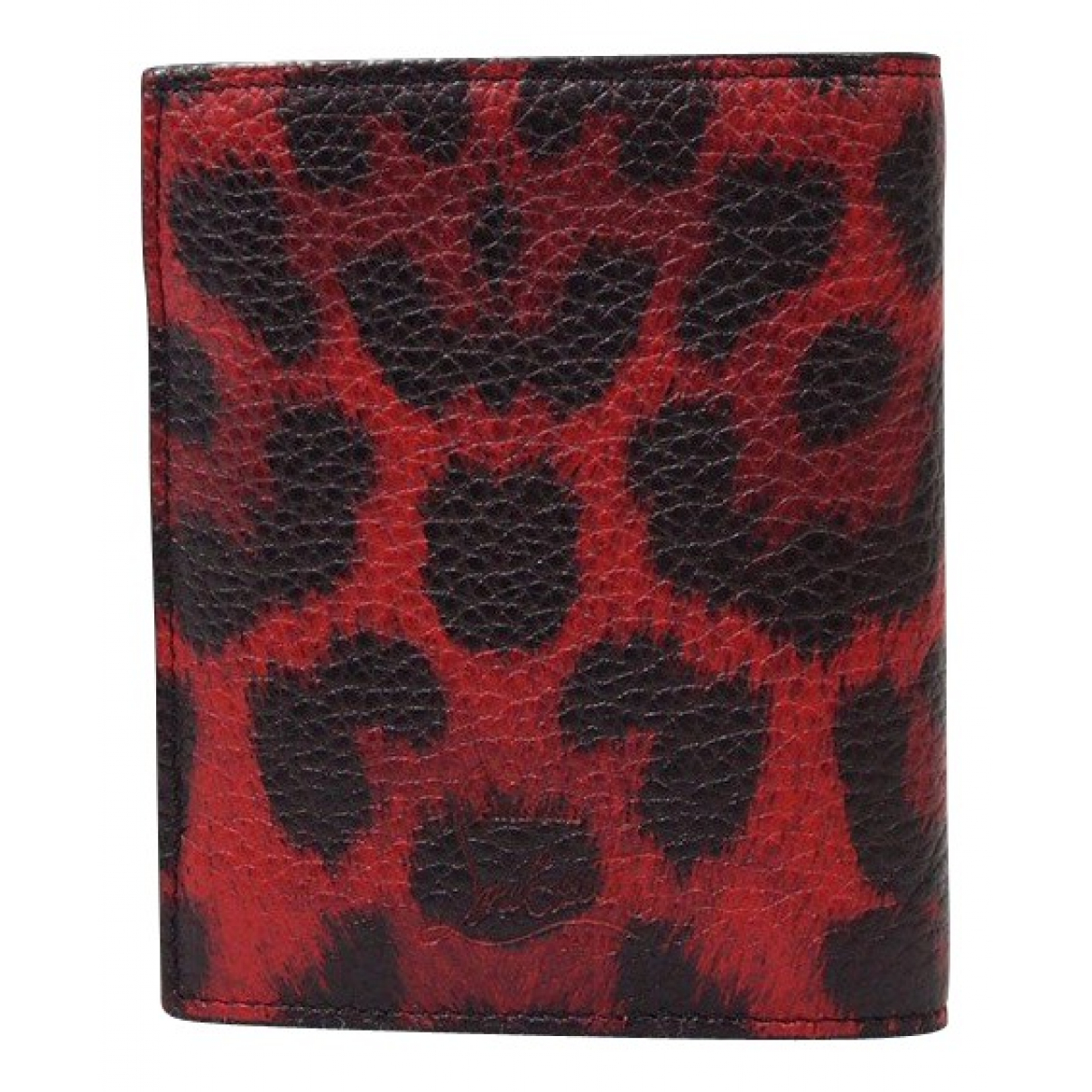 Christian Louboutin \N Red Leather wallet for Women \N