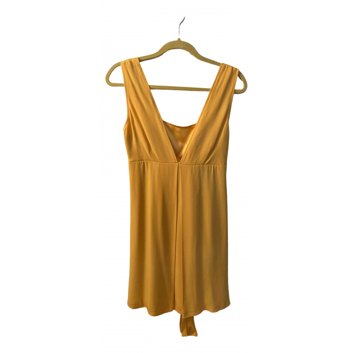 Max & Co \N Yellow dress for Women 40 IT