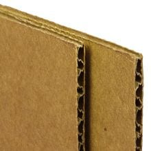 Corrugated Cardboard Sheets - 36 X 48 - Quantity: 20 - Sheets and Pads by Paper Mart