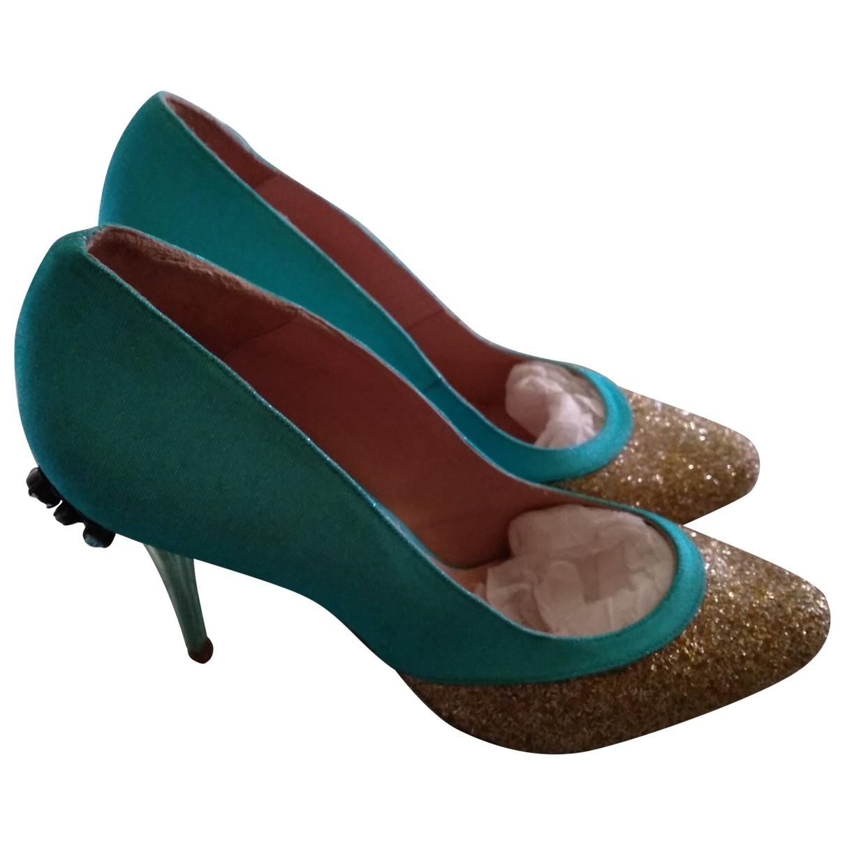Manoush \N Cloth Heels for Women 41 EU