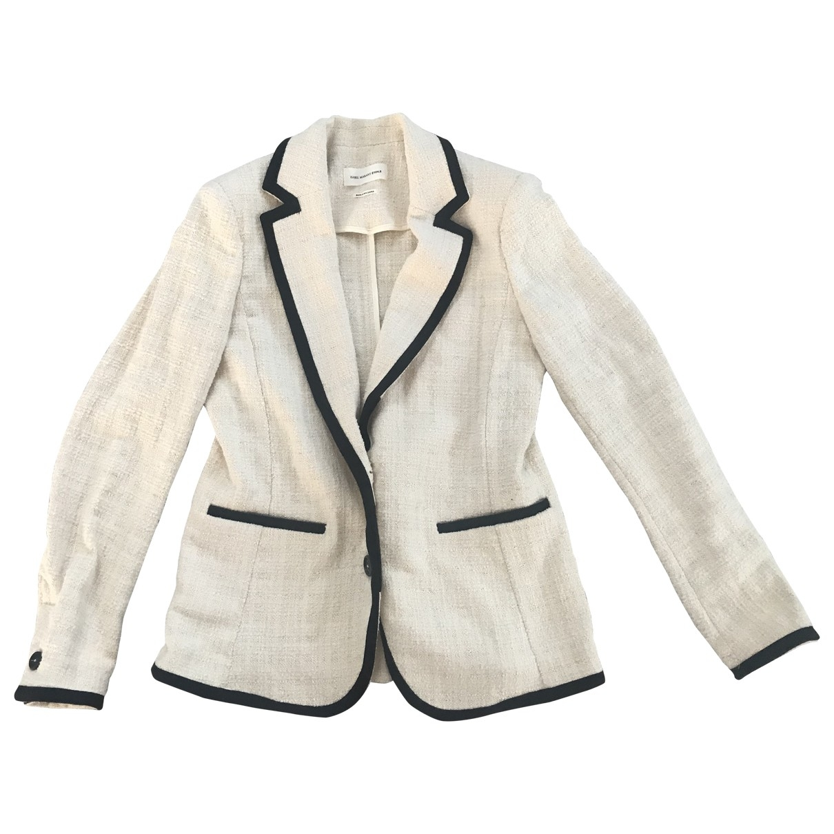 Isabel Marant Etoile \N Ecru Cotton jacket for Women 38 FR