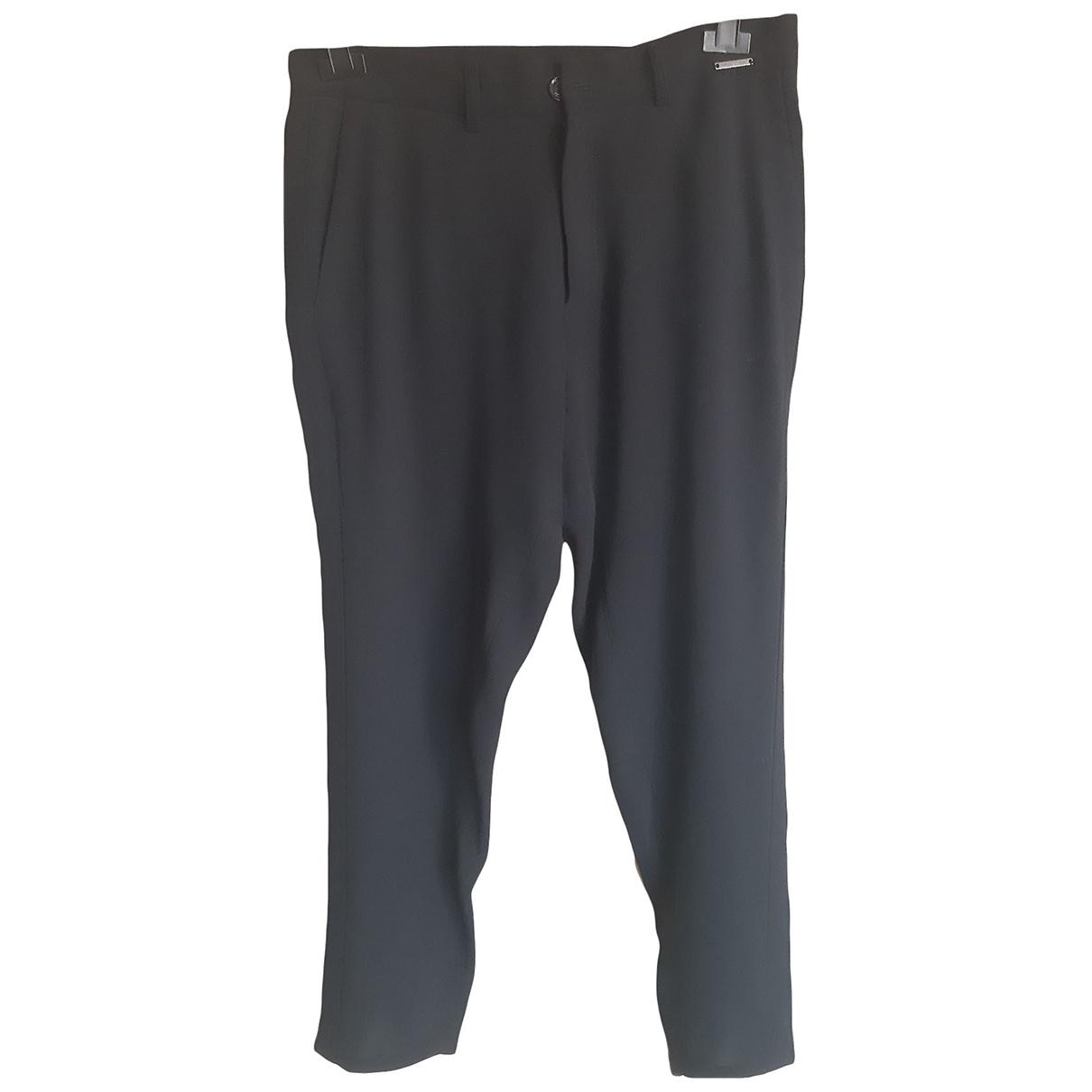 Twin Set \N Black Trousers for Women 44 IT