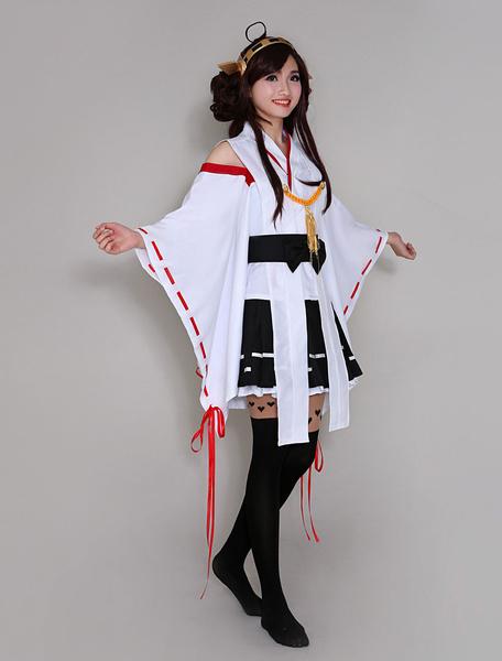 Milanoo Kantai Collection Kancolle Kongou Halloween Cosplay Costume Halloween