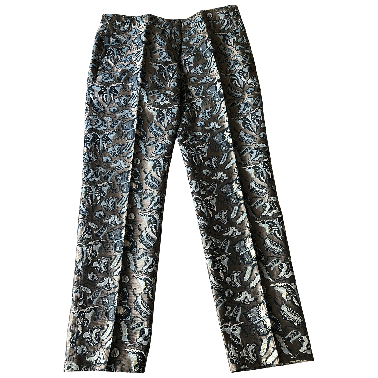 Max Mara Weekend \N Multicolour Trousers for Women 16 UK