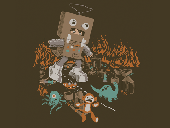 Robotron Wreaks Havoc T Shirt