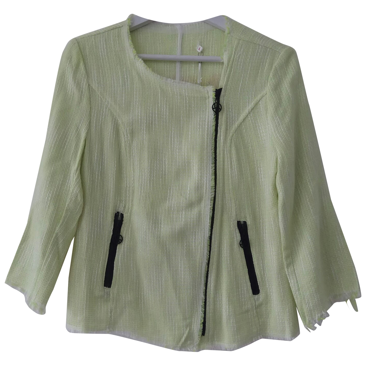 Non Signé / Unsigned \N Yellow jacket for Women 42 FR