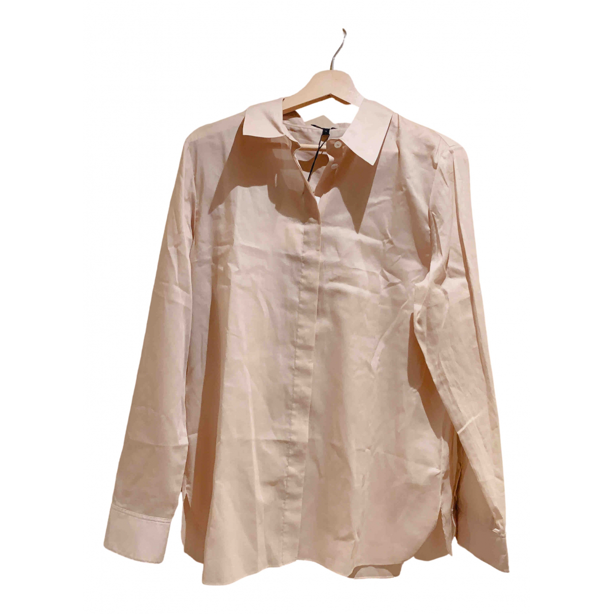 Theory \N Pink Cotton  top for Women L International