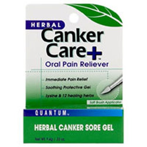 Cankercare+ Oral Gel Pain Reliever Care+ Gel 0.33 Oz by Quantum Health