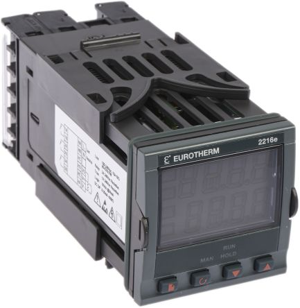 Eurotherm 2200 PID Temperature Controller, 48 x 48 (1/16 DIN)mm, 3 Output Relay, 85 → 264 V ac Supply Voltage