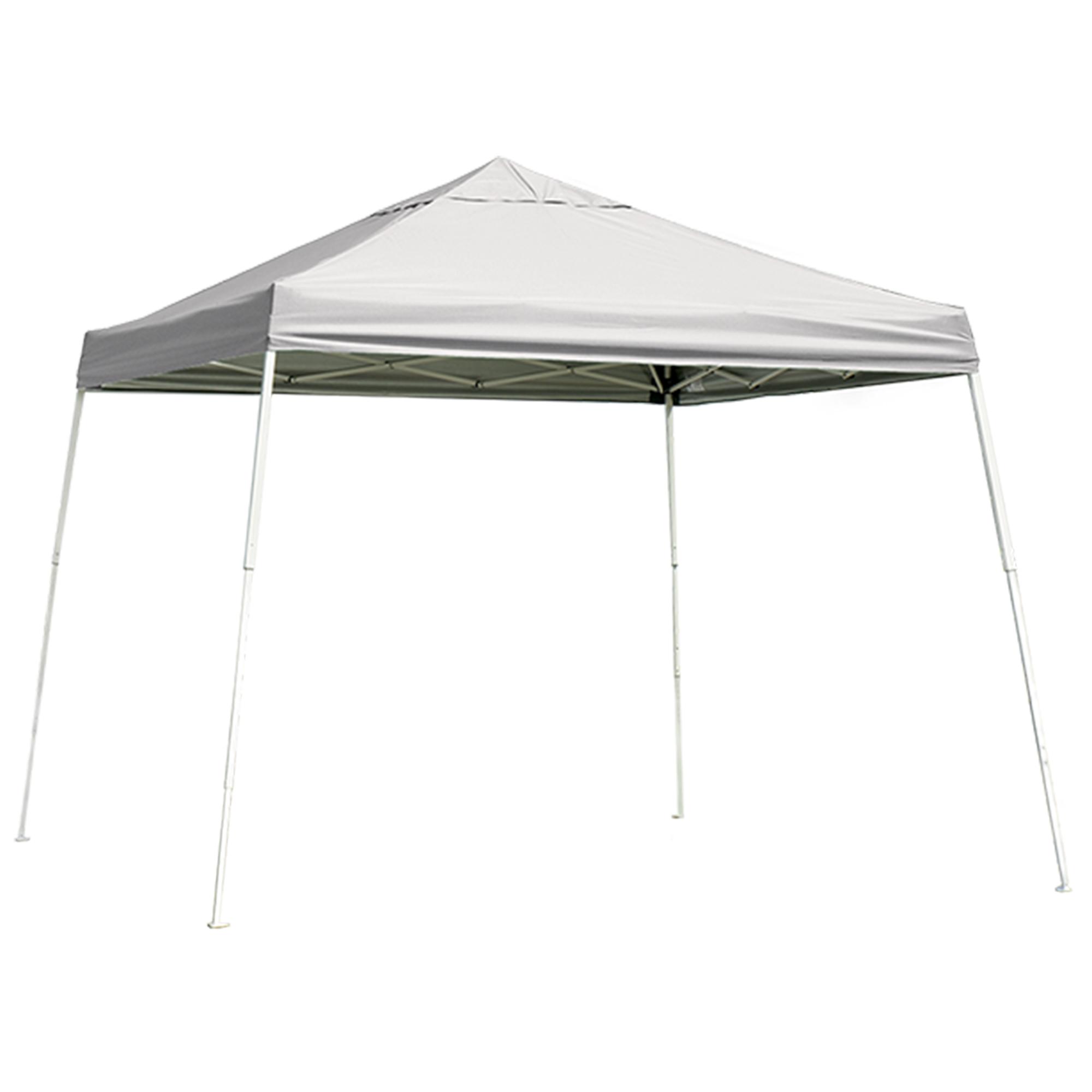 12 ft. x 12 ft. Sport Pop-up Canopy Slant Leg, White Cover