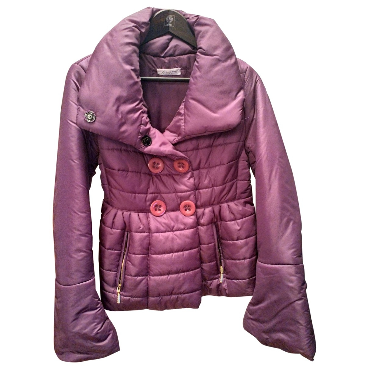 Non Signé / Unsigned \N Purple coat for Women 44 IT
