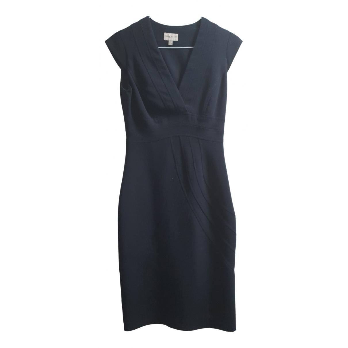 Karen Millen \N Black Wool dress for Women 8 UK
