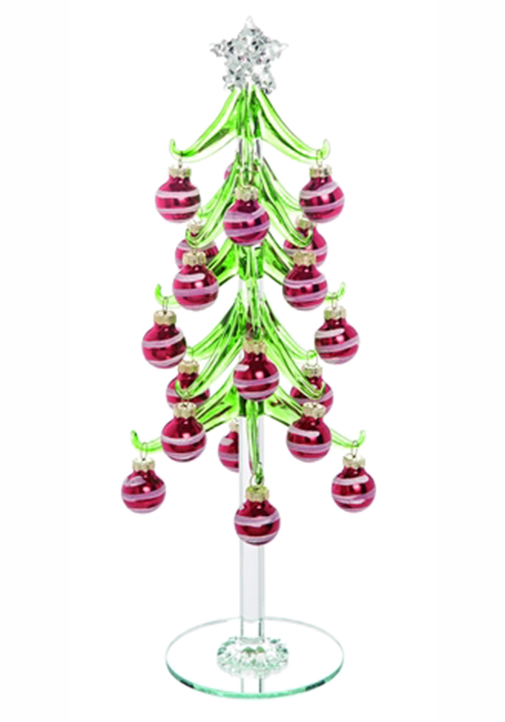 Trinket Ornament Tree Glass Christmas Décor