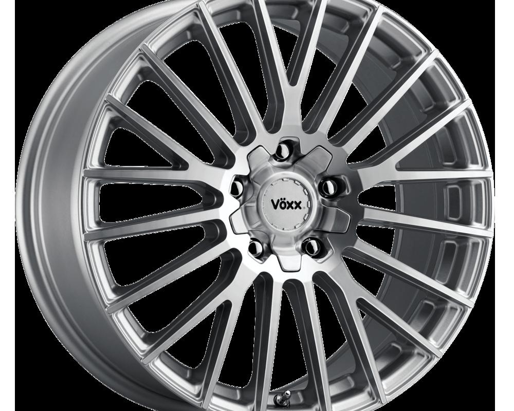 Voxx Wheels CPO 880-5008-45 SMF Capo Wheel 18x8 5x108 45mm Silver Machined Face